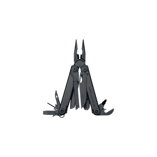 Leatherman 831028 Surge Multi Tool Black Oxide w/Cap Crimper