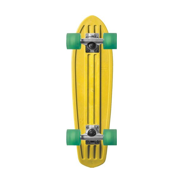 Globe Hg Retro Ripper Crusier Board, 24 Inch, Yellow/Green