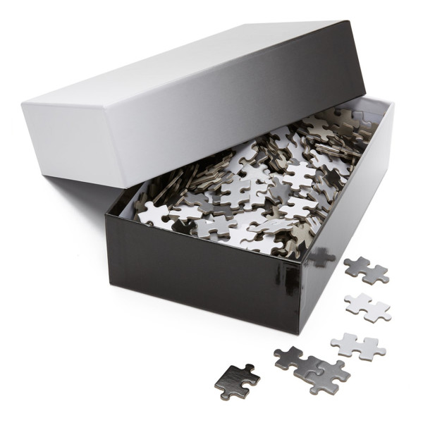 Areaware Gradient Puzzle, Black/White