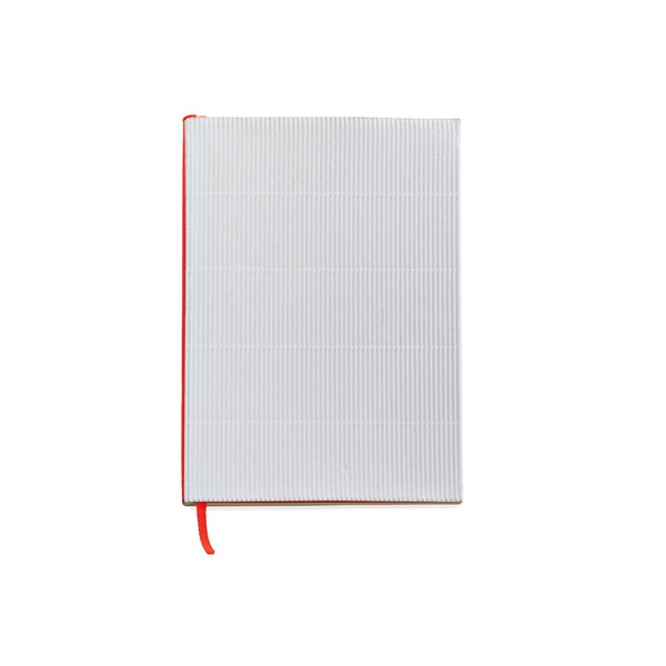 Corrugated Notebook, White