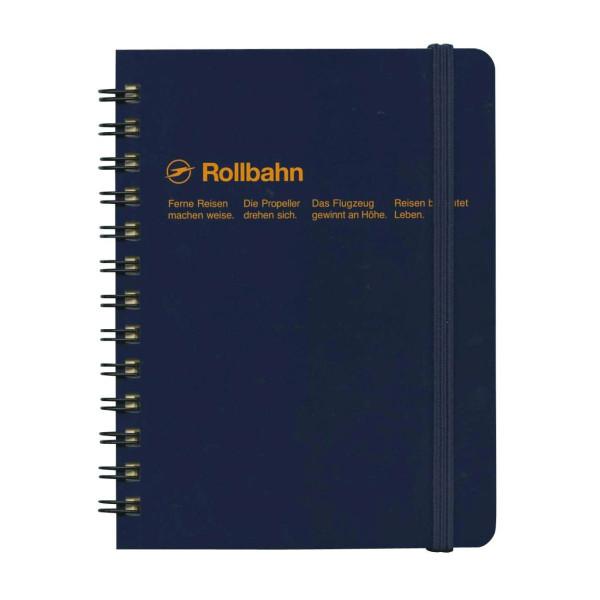 Delfonics Rollbahn Pocket Memo Book, Dark Blue