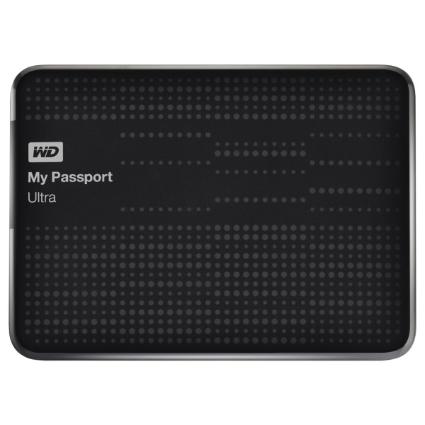 Western Digital My Passport Ultra 2 TB Portable Hard Drive, Black