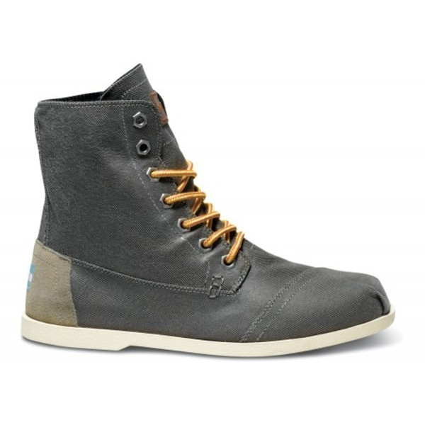 Tom's Men's Utility Boots Taupe Aviator Twill Size 9.5