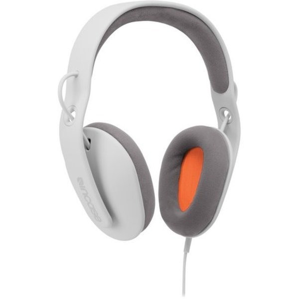 Incase Sonic Over Ear Headphones, Ash Fluro Orange
