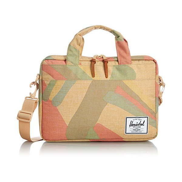 Herschel Supply Co. Hudson Messenger Bag, Natural Portal, One Size