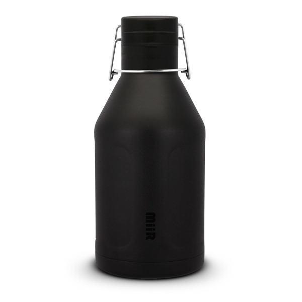 Miir Water Bottles Insulated Growler Water Bottle, Black