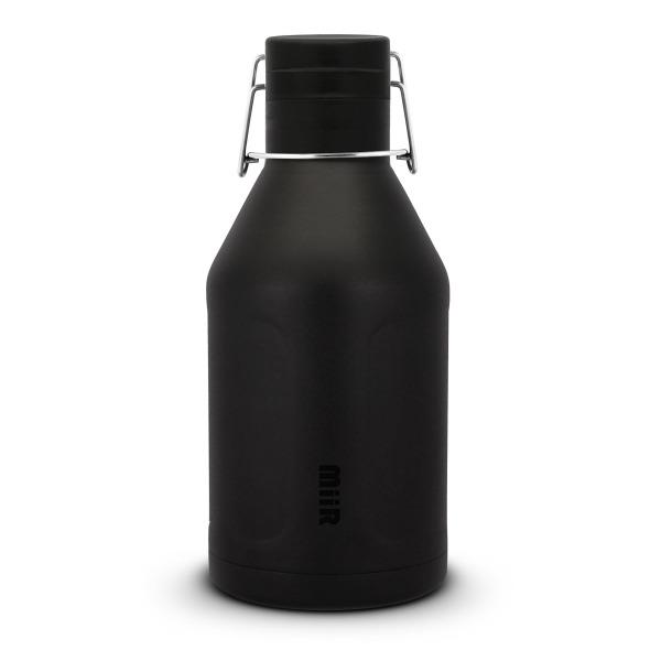 Miir Water Bottles Insulated Growler Water Bottle, Black