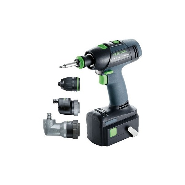 Festool 564397 T 18 Plus 3 Lithium Ion Cordless Drill Set
