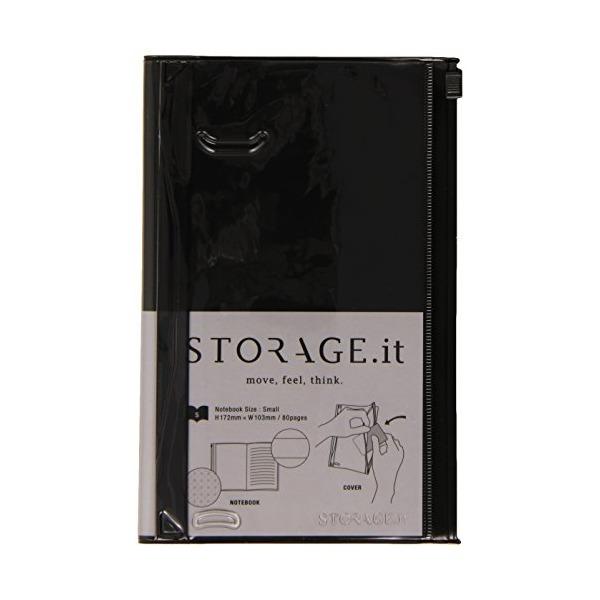 MARK'STYLE TOKYO STORAGE.it Notebook S Black