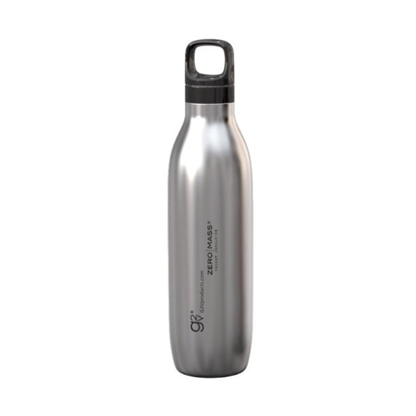 G2V 18.3-Ounce ZERO MASS Stainless Steel Water Bottle with Arch Canteen Lid
