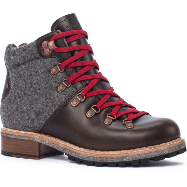 Woolrich Women's Rockies Combat Boot, Salt Marsh/Ash