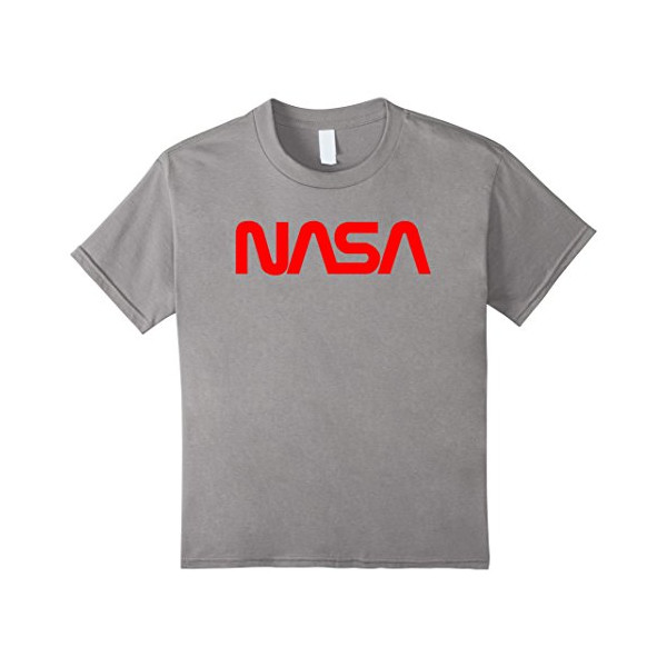 Kids NASA T-Shirt 6 Slate