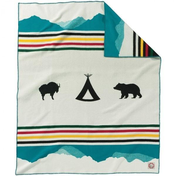 Pendleton Blanket: 100th Anniversary of Glacier Park Blanket