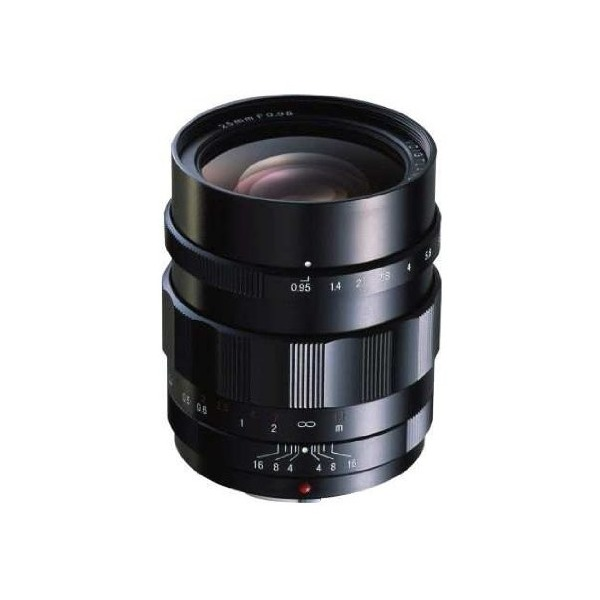 Voigtlander 25mm f/0.95 Nokton Aspherical Lens, Type II, Manual Focus for Micro 4/3 Mount