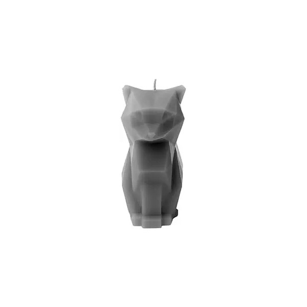 PyroPet Candles Kisa Candle, Gray