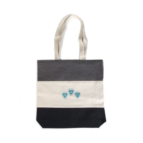 PPU: Tri - Color Tote Bag