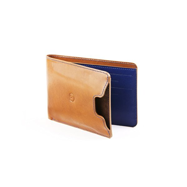 Danny P. Leather Wallet with iPhone 5/5S Case in Cognac