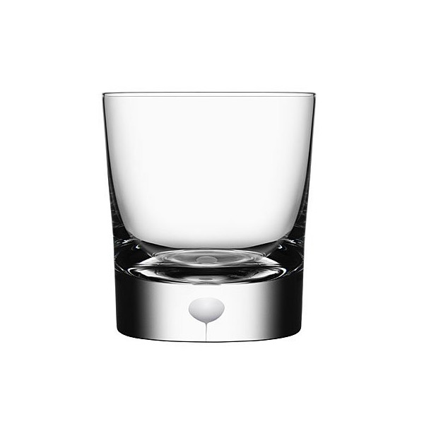Orrefors Intermezzo Satin Crystal Double Old Fashioned