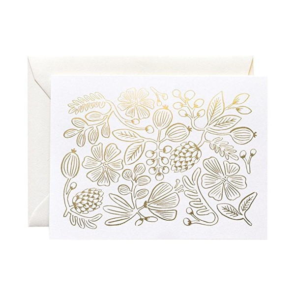 Rifle Paper Co. Gold Botanical