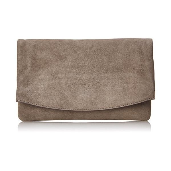 Skagen Anne Marie Flap HE Wallet, Heather Grey, One Size