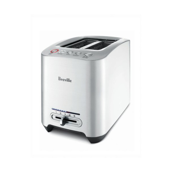 Breville BTA820XL Die-Cast 2-Slice Smart Toaster