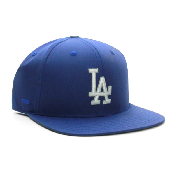 MLB Los Angeles Dodgers Flat Bill Classic Logo Snapback
