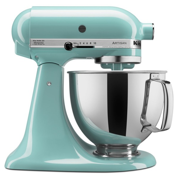 5-Qt. Stand Mixer with Pouring Shield - Aqua Sky