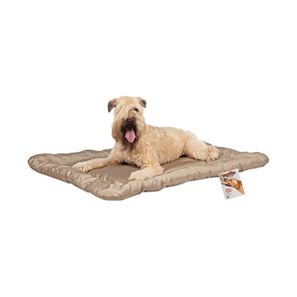 Slumber Pet Mega Ruff Empire Cage Mat, Large, Brown