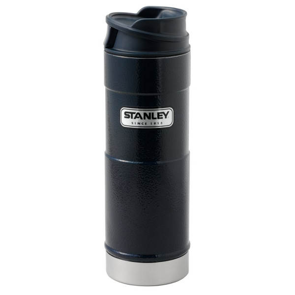 Stanley® Classic One-Hand Vacuum Mug 16 Oz., Navy ONE SIZE null