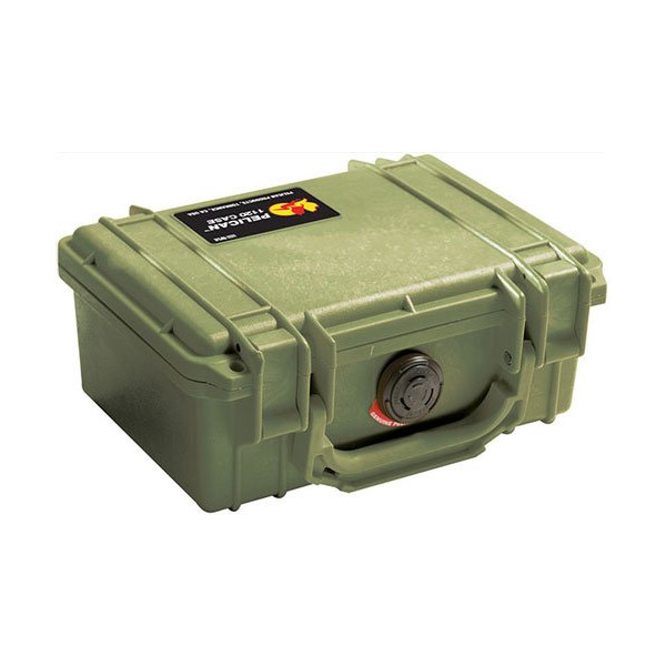 Pelican 1120 OD Green Small Case with Foam 1120-000-130