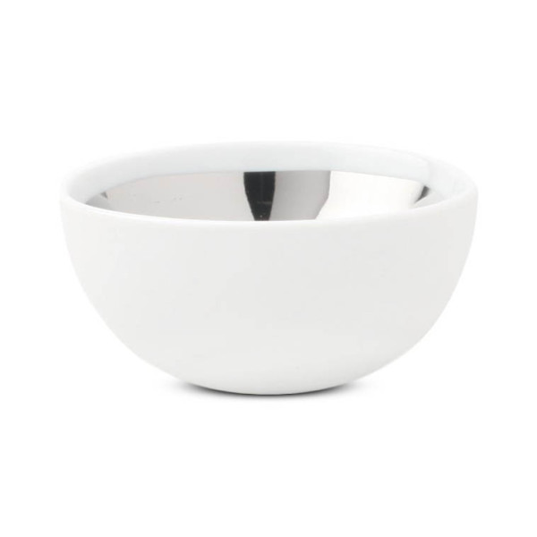 Canvas Home Dauville Glazed Bowl, Platinum