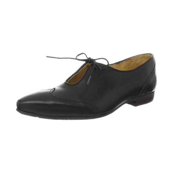 John Fluevog Women's Woop Oxford,Black,6 M US