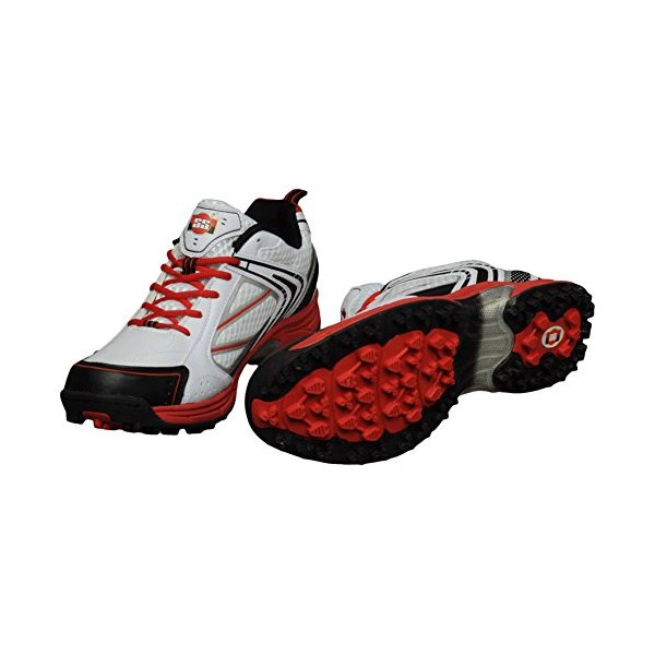 SS Rubber Sole Cricket Shoes, UK 6/US 7