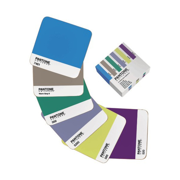 Pantone Universe Coasters, Set of 6
