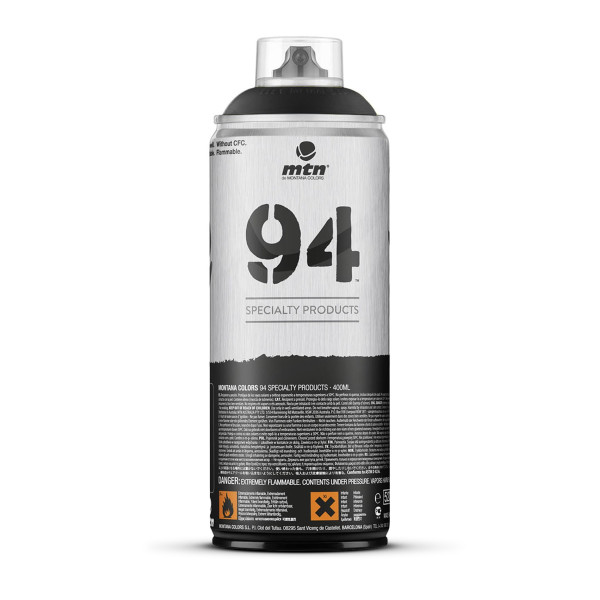 Montana MTN 94 Series 400ML Chalk Spray Paint BLACK