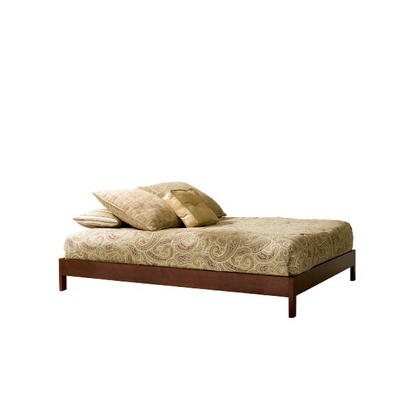 Leggett & Platt Fashion Bed Group Murray Platform Bed, Queen, Mahogany