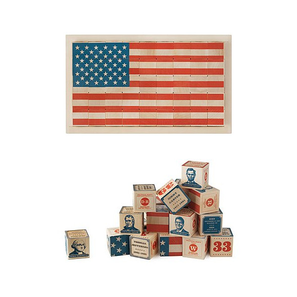Uncle Goose Presidential Blocks (45 pcs)