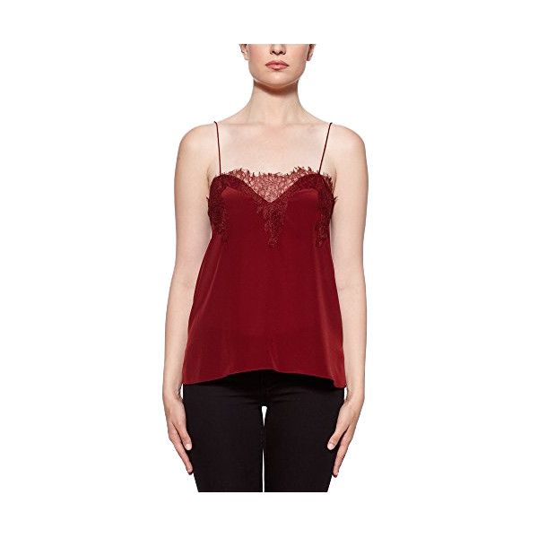 Cami NYC, The Sweetheart Camisole, Burgundy