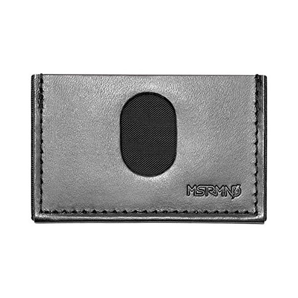 MSTRMND Collective Gray Slimplistic Wallet Card Case