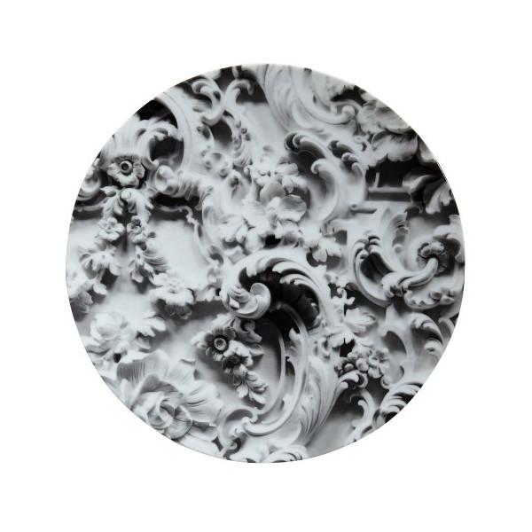 Rudolf Stingel White Plate