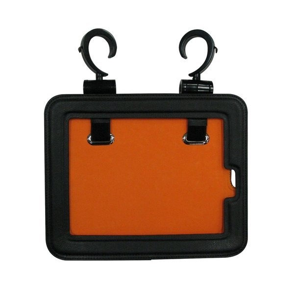 Black iLatch all Generation iPad Hanging Case for Kids, Parents, College Students, Travelers, Chefs, and On the Go!