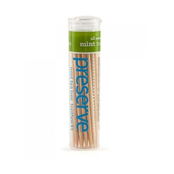 Flavored Toothpicks, Mint Tea Tree (35 ct)