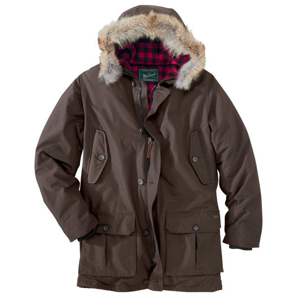 Woolrich Men's Arctic Parka, Dark Wood