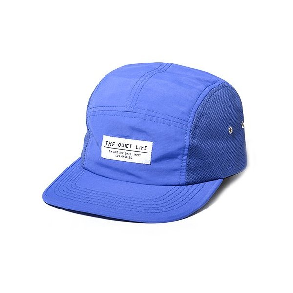 Quiet Life: Tastech 5 Panel Hat - Blue
