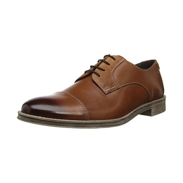 Stacy Adams Men's Caldwell Oxford,Cognac,12 M US