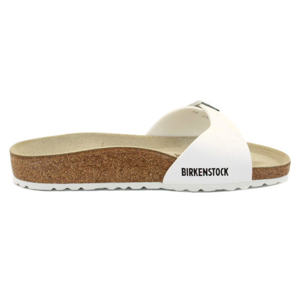 Birkenstock Madrid Sandal, White Leather