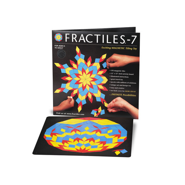 Fractiles Magnetic Tiling Toy by University Games