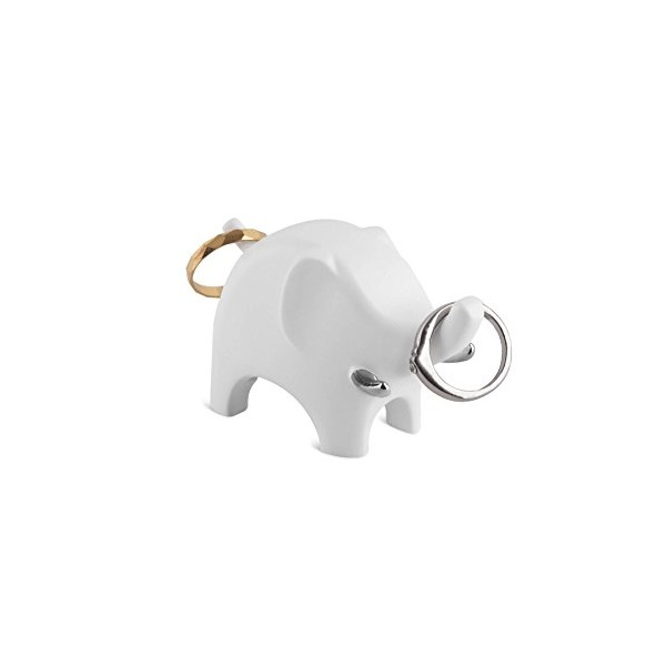 Umbra Anigram Ring Holder, Elephant, Nickel