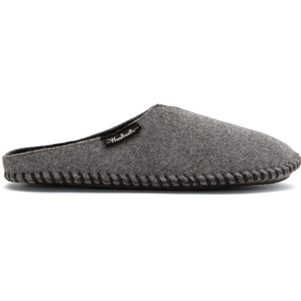 Woolrich Classic Felt Mill Scuff Slippers, Gray