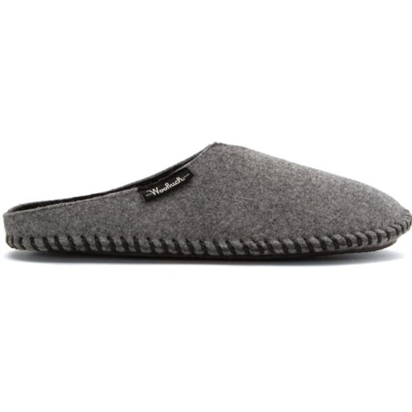 Woolrich Classic Felt Mill Scuff Slippers, Gray